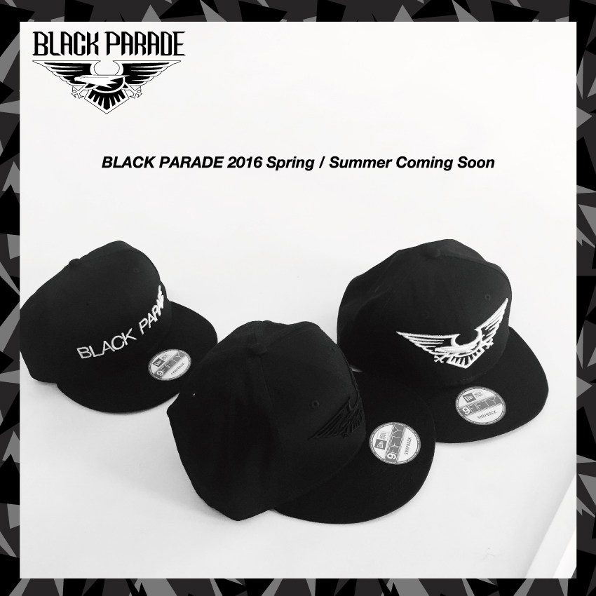 Black Parade 2016 Spring / Summer Collection Coming Soon