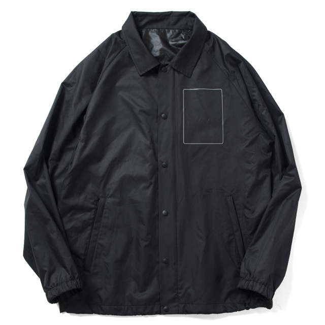 Black Parade Nylon Coach Jacket