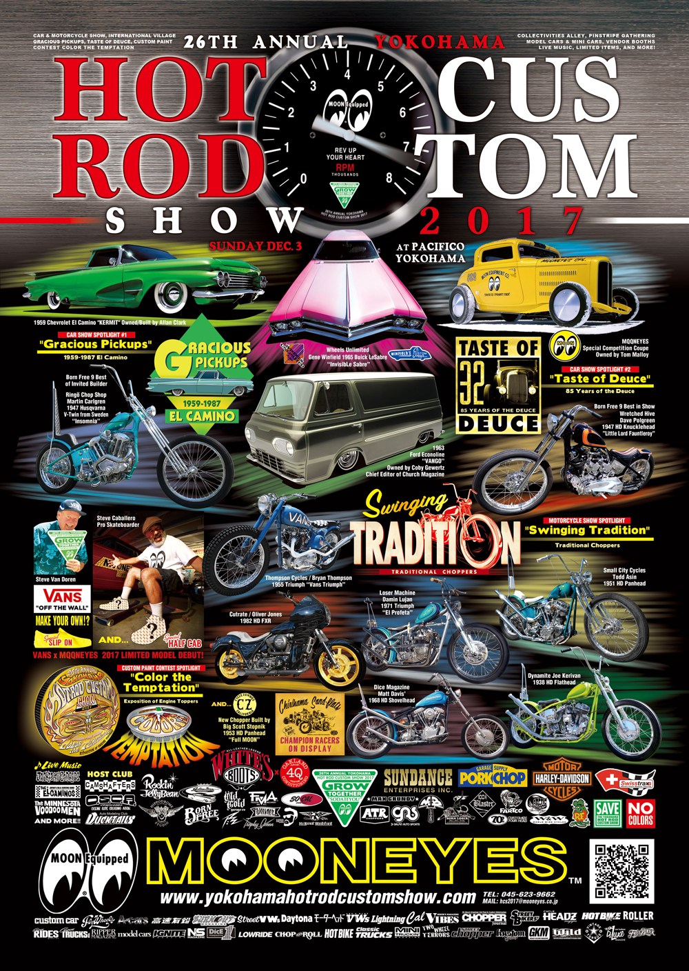 Yokohama Hot Rod Custom Show 2017