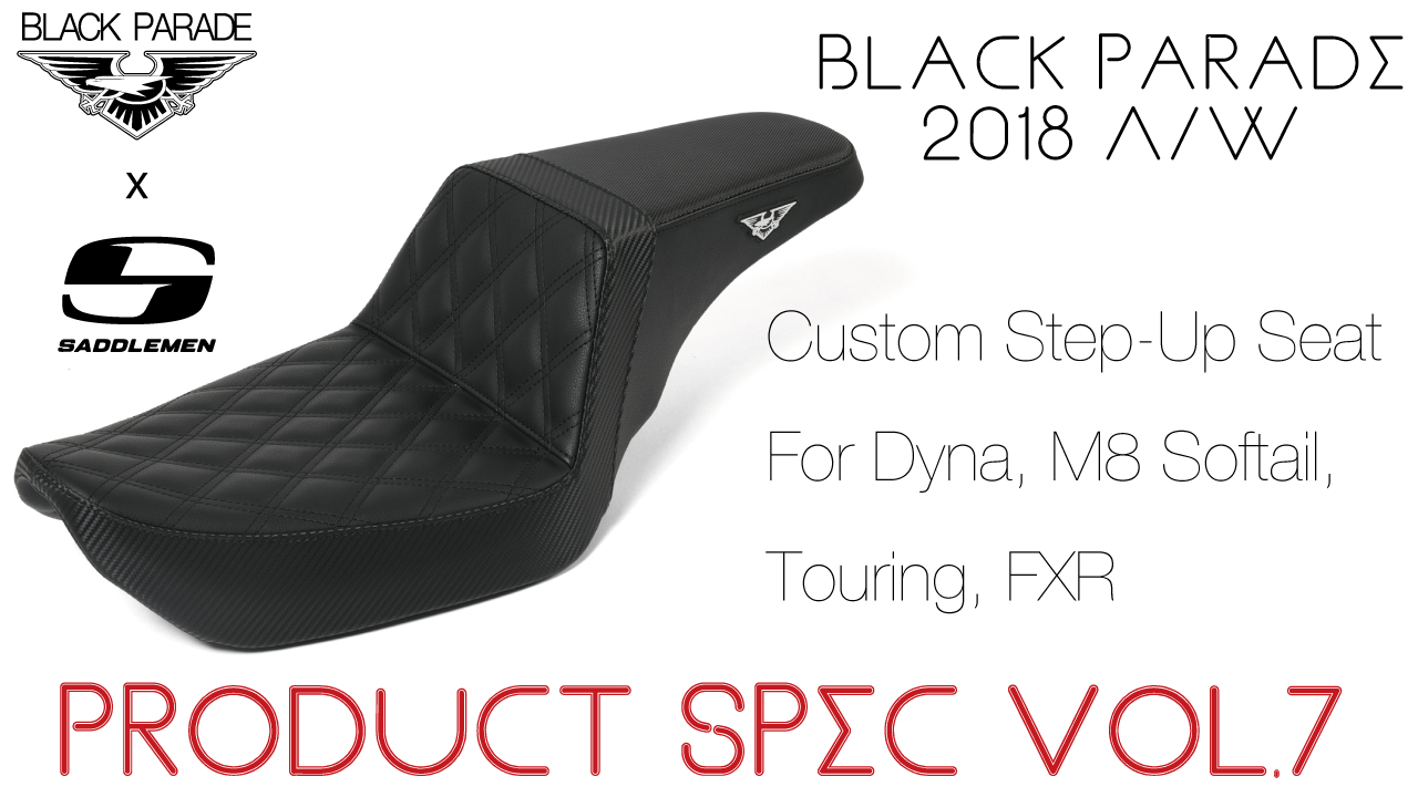 [Product Spec vol.7] Black Parade 2018 A/W Collection Collab with Saddlemen
